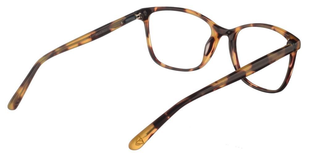 Γυναικεία κοκάλινα γυαλιά οράσεως Brixton Portobello BF0102 C1 με καφέ ταρταρούγα σκελετό για όλα τα πρόσωπα.
